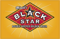Blackstar Beer logo